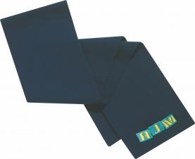 Lightweight Acrylic Rib Knit Scarf