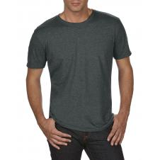 ANVIL - 6750 - T-Shirt - Triblend Crew Neck Tee - 50/25/25 - Gris Foncé Cendré -  X-Large