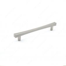 Poignée transitionnelle en métal - 7227 - 160 mm -  Nickel brossé