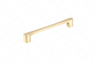 Contemporary Metal Pull - 7470 - 176 mm / 8 mm - Satin Brass