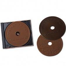 Molded Chocolate Compact Disc in Jewel Case