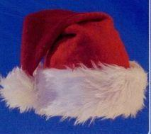 12 Units Regular Santa Cap
