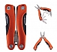 Metallica Small Stainless Steel Multi-Tool w/ Orange Handle