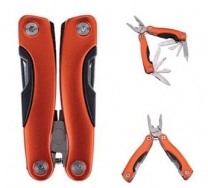 Metallica Small Stainless Steel Multi-Tool w/ Orange Handle