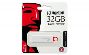 Kingston - DTIG4/32GBCR - 32GB Datatraveler G4 USB 3.0 Flash Drive