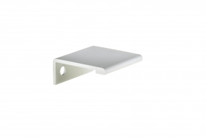 Contemporary Aluminum Edge Pull - 9898 - 25 mm - Aluminium