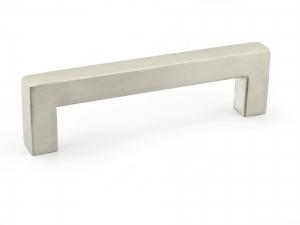 Poignée contemporaine en acier inoxydable - 604 - 128 mm - Acier inoxydable