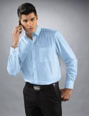 HORST TSM7000 - Institutional Men's Long Sleeves shirt - 65/35