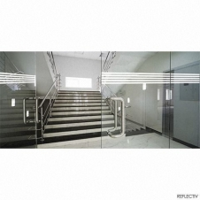 Window Films - Display Films - VISUAL 12 - White line of 13 mm (Roll of 2 x 34')