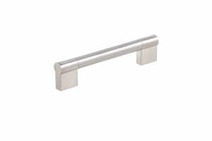 Contemporary Stainless Steel Pull - 527 - 160 mm - Brushed Nickel