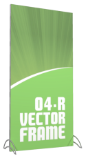 Vector Frames - 95 x 47w Rectangle frame (04) - With OCL case