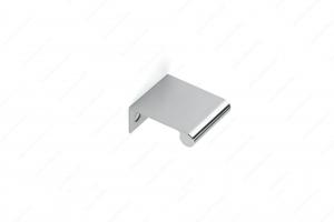 Poignée contemporaine pour rebord en métal - 9696 - 25 mm - Chrome