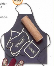 Deluxe Gift Set (Apron/2 Grill Mitt/Pot Holder)