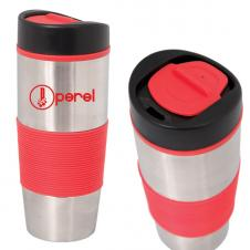 500 ML. (16 OZ.) STAINLESS STEEL TRAVEL TUMBLER