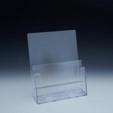 Support à brochure jusqu'à 8-1/2 large - 2 emp. - 9,125 L x 11,0625 H x 5,5 P - Acrylique claire