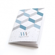 Plantable Pocket Notebook - 3D Chevron