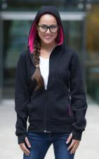ATC - L201 - Fleece Full Zip Hooded Ladies Sweatshirt