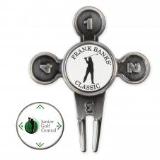 Who Goes First Golf Divot Tool
