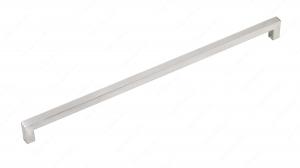 Poignée contemporaine en acier inoxydable - 604 - 480 mm - Acier inoxydable