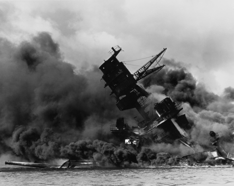 Pearl Harbor Ship Warship Destroyed Sink Sunk
