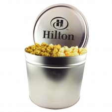 2 Gallon Popcorn Tin/Trio (Butter, Cheddar, Caramel)