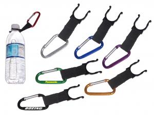 Large Size 7 Cm Carabiner and Water Bottle Holder