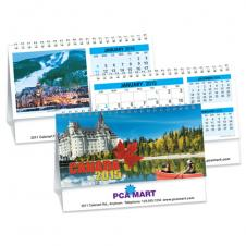 Desk Calendars - CANADA'S CHARMS - DOUBLE VIEW®