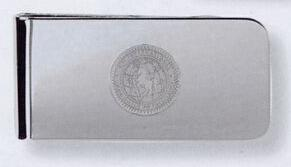 Silver-tone Finish Money Clip