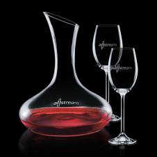 Cimmaron Carafe & 2 Wine