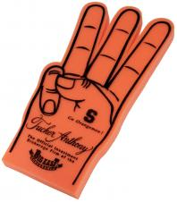 3 Fingered Foam Hand Cheering Mitt