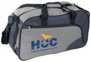 Two tone sport bag 600D polyester - Liquidation