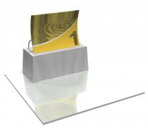 Panneau textile de table Formulate TT1 62l x 46.5h - Inclus 1 coffre de transport