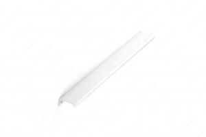 Poignée contemporaine pour rebord en métal - 9696 - 416 mm - Blanc