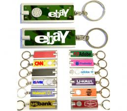 Mini Flash Light with Super Bright LED & Swivel Key Chain (Green Camouflage)