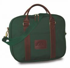 Attache w/Leather Trim (Canvas)