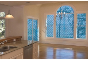 Window Films - Decorative Films - Stained Glass Effect - VTB 420 - Blue
