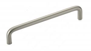 Poignée contemporaine en métal - 2288 - 5 - Nickel brossé