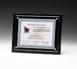 Horizontal Magnetic Certificate Insert Frame (13x10 1/2) (Screen Printed)