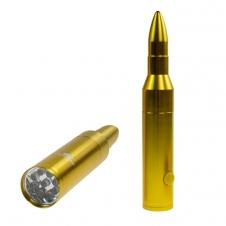 Olympia - Lampe de poche en forme de munition - Piles non incluses