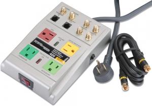 Barre d'alimentation - Monster - 121522 - 4 prises - Prises pour cables - Powercenter 400