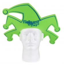 Jester Clown Foam Visor