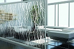 Window Films - Decorative Films - Frosted Films - INT 510 - Vertical Curves