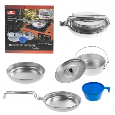 OLYMPIA - ALUMIUM 1-PERSON MESS KIT