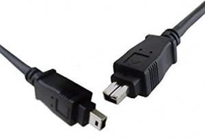 Câble Firewire - IEEE 1394 - 4 PIN Mâle / 4 PIN Mâle - Noir - 15 pieds