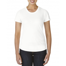 ANVIL - 6750L - T-Shirt - Triblend Col Rond pour femme - 50/25/25 - Blanc - Medium
