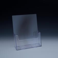 Support à brochure jusqu'à 8-1/2 large - extra capacité - 1 emp. - 9,125 L x 5,5 P - Acrylique claire