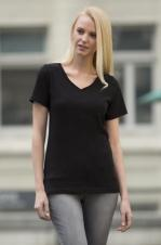 ATC - ATC8001L - Eurospun Ladies T-Shirt - V-Neck - 100% cotton