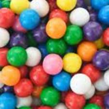 Imported Gum Balls Refill (25 Piece Bag)