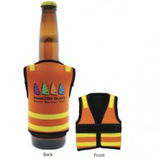 Neoprene Safety Vest Stubby Cooler (4-5 Week Service)