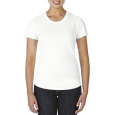 ANVIL - 6750L - T-Shirt - Triblend Col Rond pour femme - 50/25/25 - Blanc - X-Large